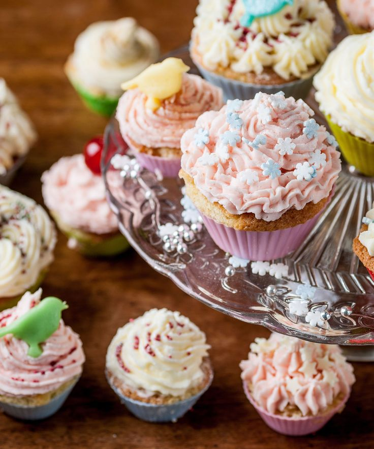 Fairy cakes are a must for any kids party or celebration, and you can't go far wrong with Frances Atkins' cupcake recipe, as she provides three different frosting flavours to choose from; blackcurrant, vanilla cream cheese or maple syrup. Get creative with your decorations and you can easily adapt these to fit any occasion.