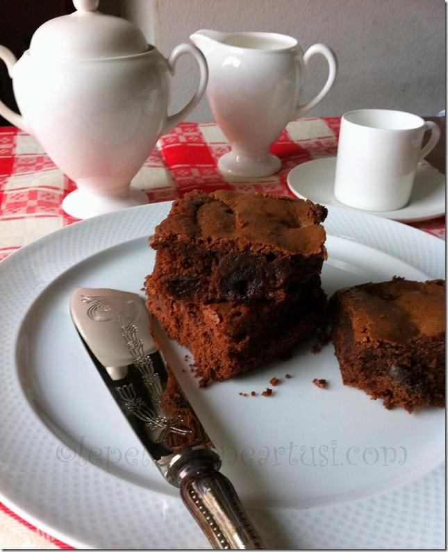 Brownies con amarene