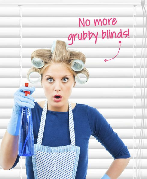 Clean Grubby Blinds - Rid your Venetian, fabric or vinyl blinds of grime and dust with these handy tips