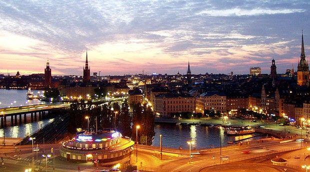 Estocolmo, a capital sueca (Foto: Oke/Wikimedia Commons)