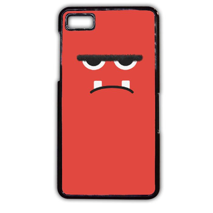 Pink Angry Monster Face Phonecase Cover Case For Blackberry Q10 Blackberry Z10