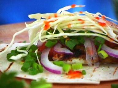 Bobby Flay's Amazing Fish Tacos: Bobby Flay's Fish Tacos