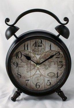 "ceas de masa retro ""World Map"""