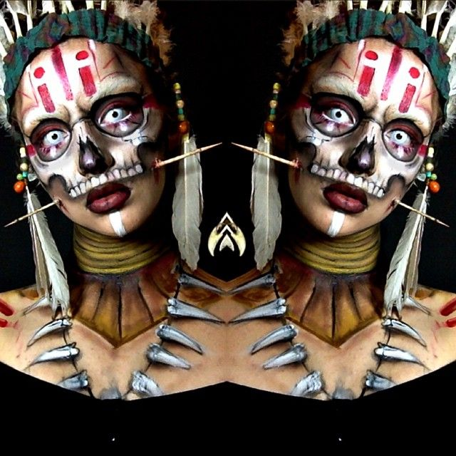 """""""Witch Doctor Makeup! """""""