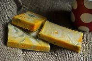 Whirls in Shea Butter Soap ( Handmade Soap, Vegan, Palm Free, Essential Oils.)