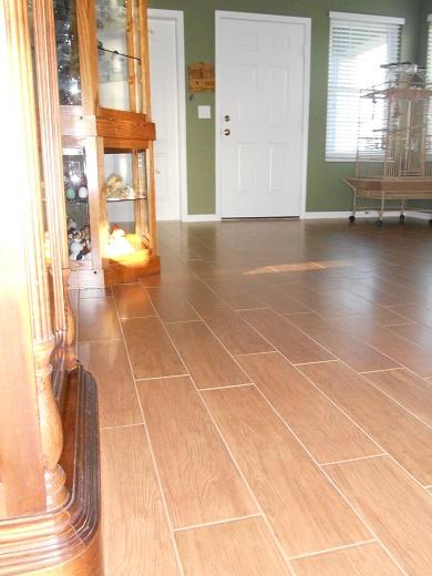 Kitchen Floor Ceramic Tile Design Ideas
