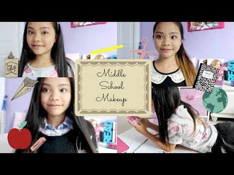 Middle School Makeup Tutorial! ♡ 6,7&8 ♡ - YouTube