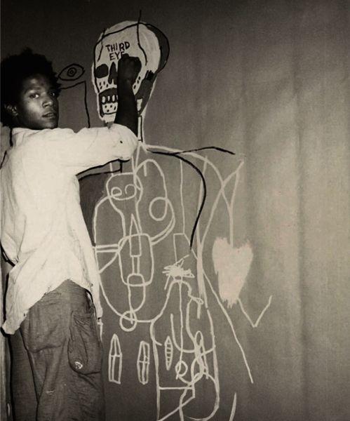 Jean-Michel Basquiat, 1984.