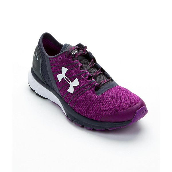 Under Armour Women's Charged Bandit 2 Running Shoes ($100) ❤ liked on Polyvore featuring shoes, athletic shoes, women, under armour footwear, under armour shoes, under armour and flexible running shoes
