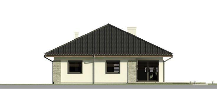 Elewacja Dom przy Pastelowej 3 CE