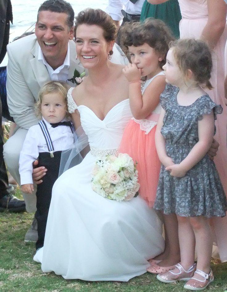 Danella Jade / Castaways / Reem Acra copy / happy / children / wedding