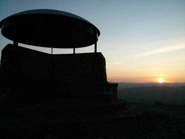 Sunset at Scout Scar near Kendal