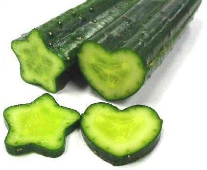 How to grow star and heart shaped cucumbers!!