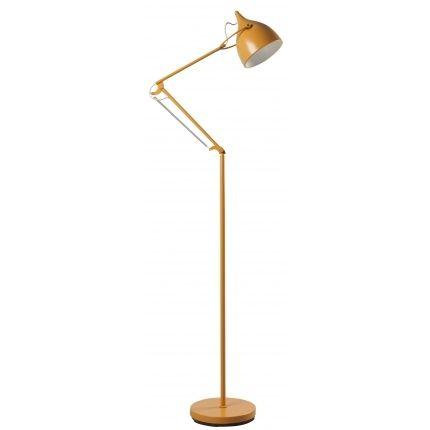 Stojací lampa ZUIVER READER, žlutá
