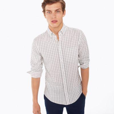 Dreamy Oxford Windowcheck Mens Shirt