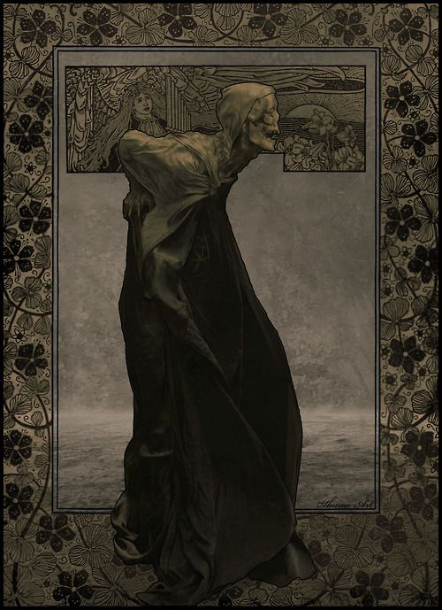 OLD DEATH-Art Nouveau  by ~SHUME-1