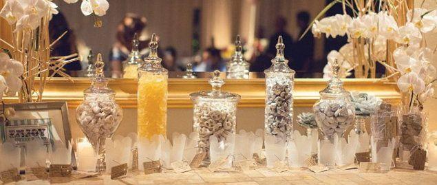 Candy Buffet Table 101 article photo    Love this idea! So pretty but fun :D