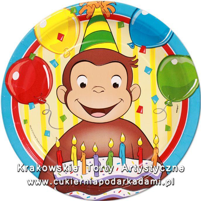 098. Fototort z Małpką George. George the monkey photocake.