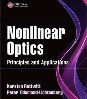 Nonlinear Optics: Principles And Applications PDF