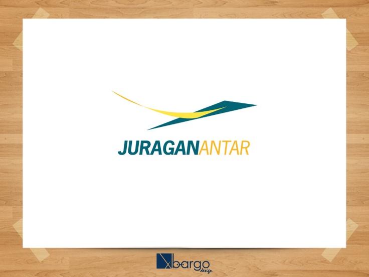 Desain Logo Juragan Antar 1