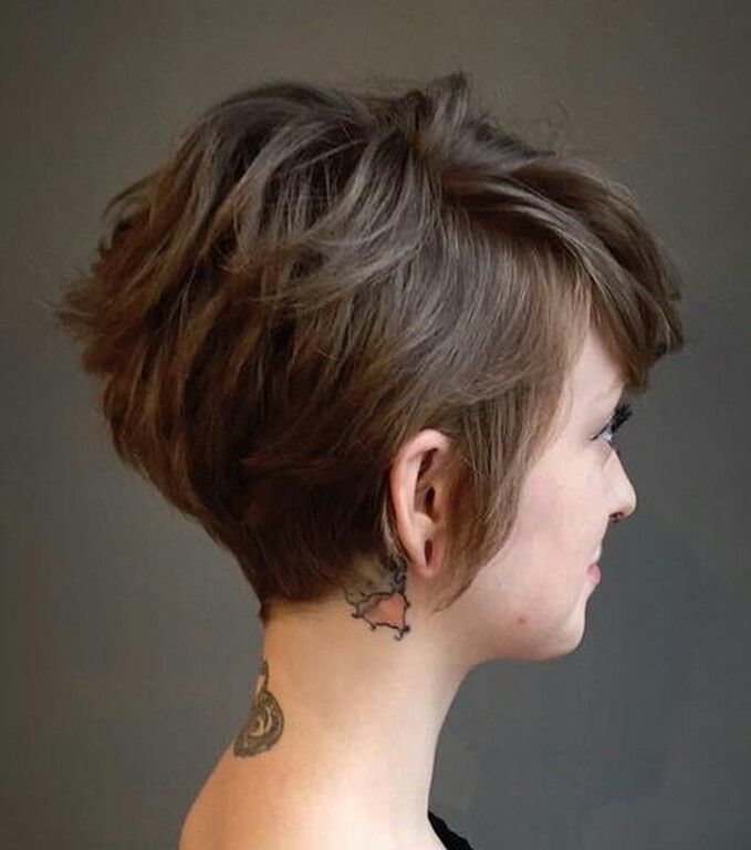 Perfect long pixie!