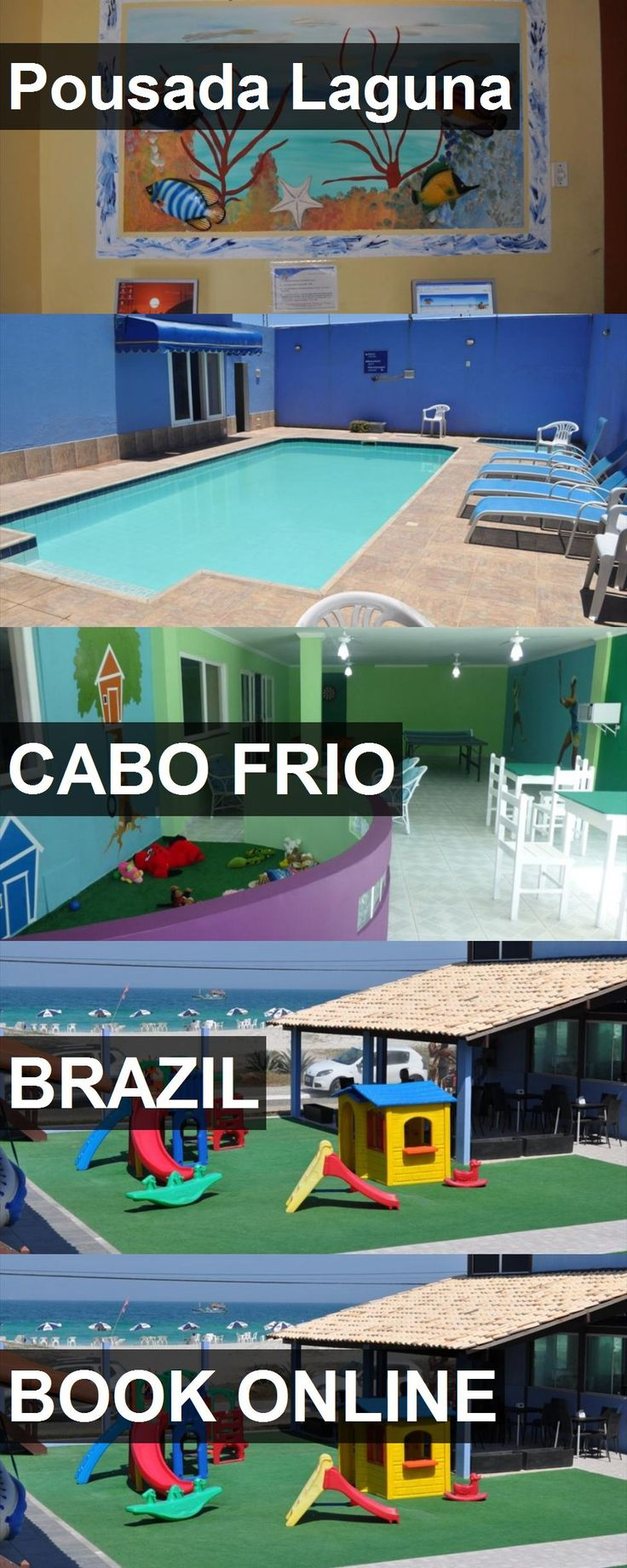Hotel Pousada Laguna in Cabo Frio, Brazil. For more information, photos, reviews and best prices please follow the link. #Brazil #CaboFrio #PousadaLaguna #hotel #travel #vacation