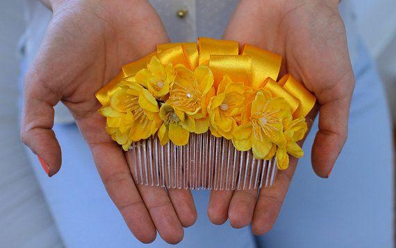 Bridal Bow Wedding Hair Comb Bridesmaids Headpiece on Etsy, £24.21