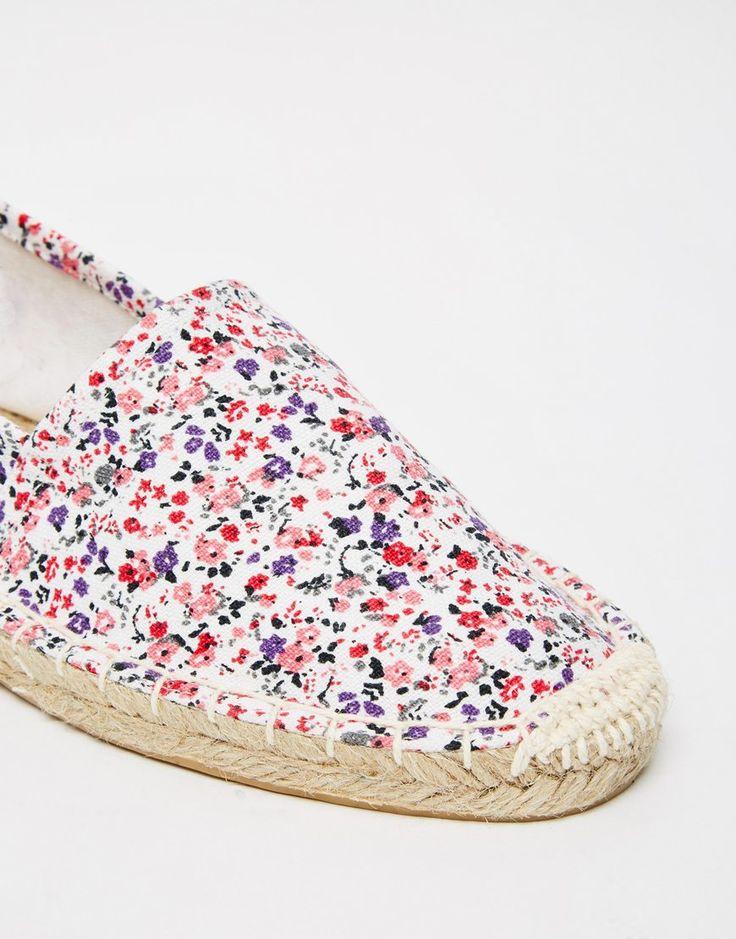 Immagine 4 di Pieces - Haisha Nude - Scarpe piatte stile espadrillas a fiori