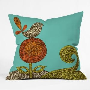 DENY Designs Home Accessories | Valentina Ramos Bird In The Flower Throw Pillow: Valentine Design, Ramos Birds, Home Accessories, Valentina Ramos, Home Kitchens, Throw Pillows, Flowers, Deni Design, Design Home