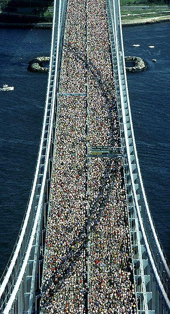 Maratón en Nueva York.
