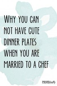 87 best Married to a Chef images on Pinterest | A chef, Top blogs and Dating