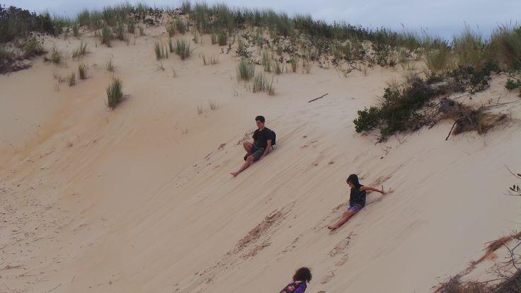 Peron Sand Dunes Tasmania 2015
