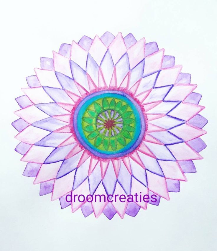 Finished the next mandala flower with aquarel pencils!   #mandala #mandalasharing #mandalaflower #flower #flowerart #aquarelpainting #aquarelart #aquarel  #drawing #lovemandalas #loveflowers #droomcreaties