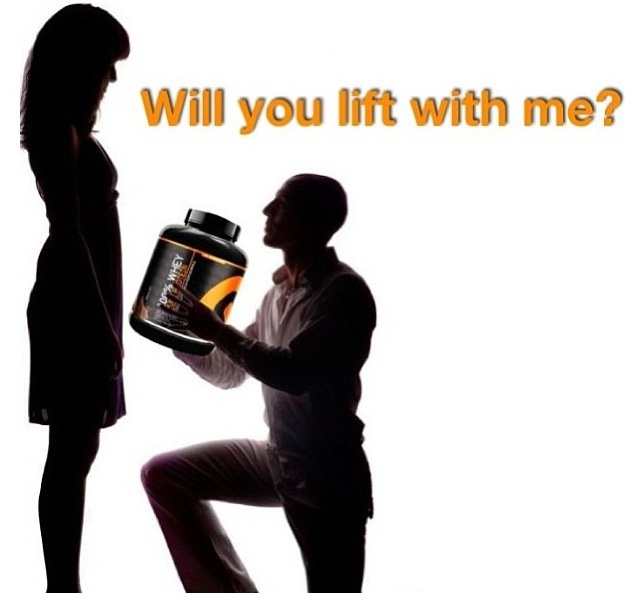 Will you lift with me? ;) #gymnordic #protein #fitness #workout #lift #love
