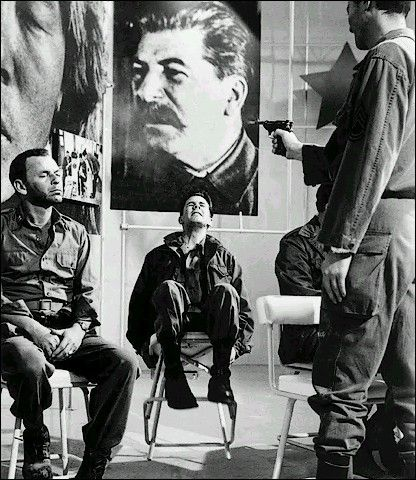 The Manchurian Candidate (1962) (This scene terrified me when I first saw this movie.):