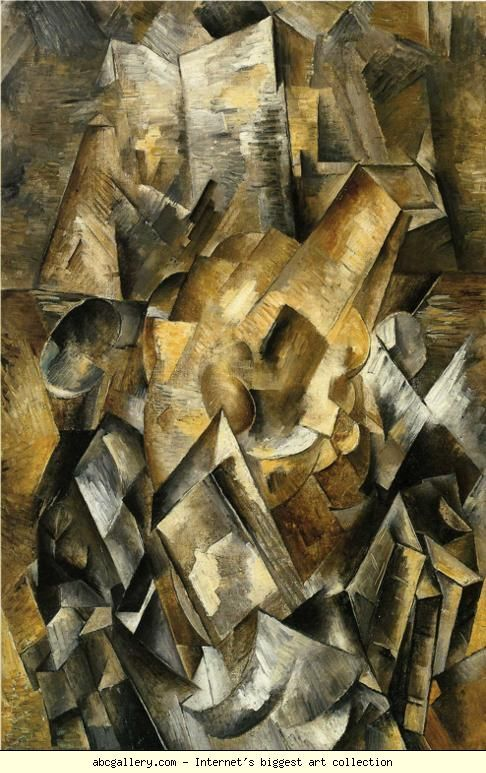 Still Life with Mandola and Metronome, 1909 - Georges Braque