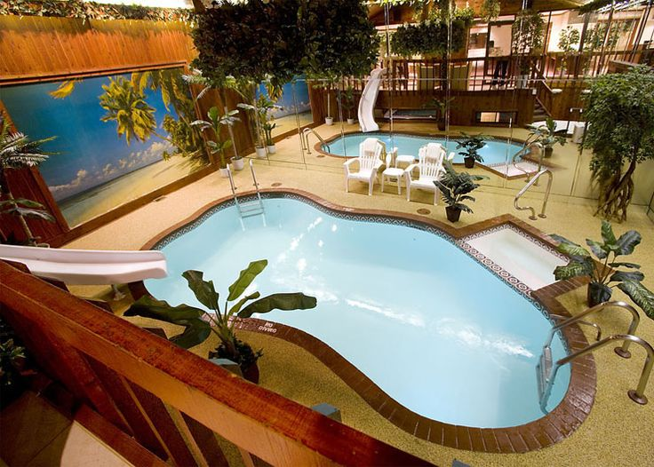 Sybaris Pool Suites - Chalet Swimming Pool Suite...I want to go stay there.