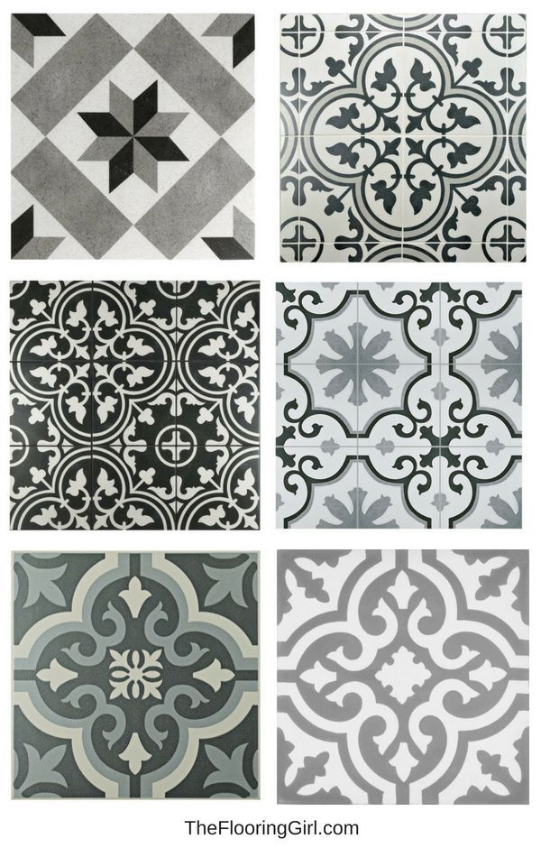 15 Stunning Vintage Black And White Tiles For Bathrooms Black