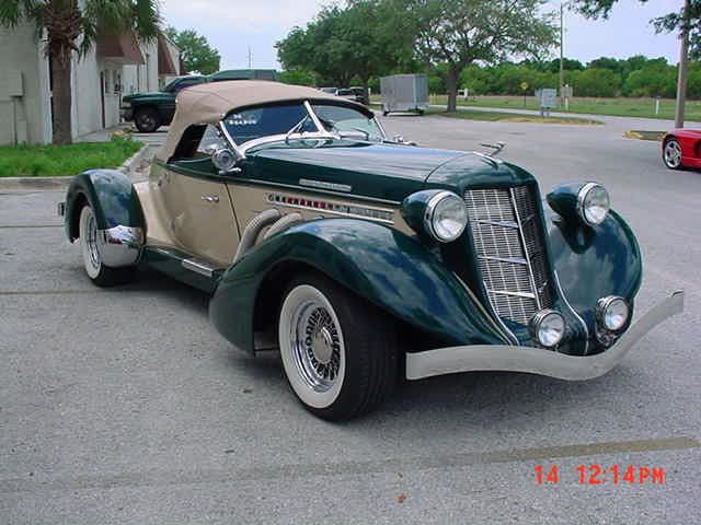 1936 Auburn Boattail Speedster Replica-not A Kit- But A