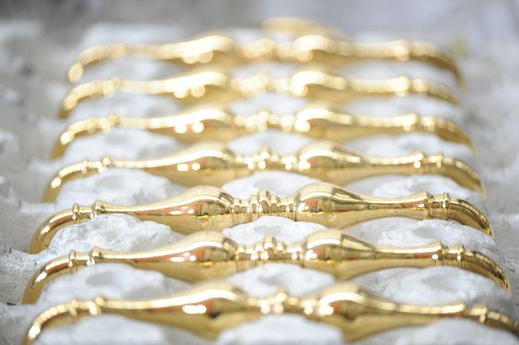 #brass Assembling processing phase. #EnricoCassina #door and #window #handles The italian sartorial company in Cucciago, Como.