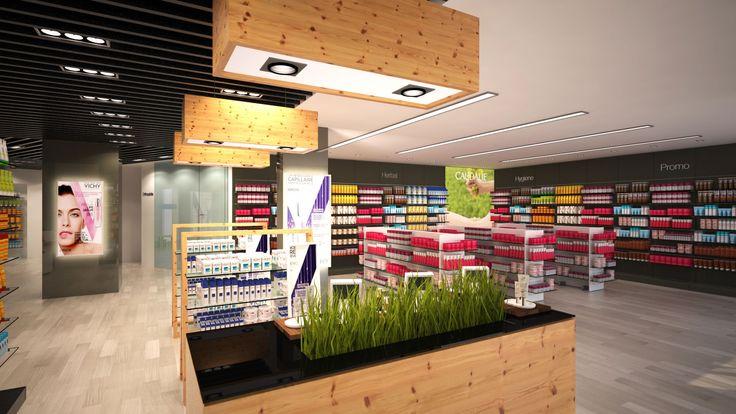 """iPharma, soluciones """"llave en mano"""" para farmacias y clínicas, desde el diseño arquitectónico a la comercialización y de imagen, incluyendo las áreas de ingeniería, mobiliario, equipo y tecnología"""