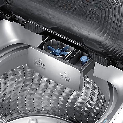 Samsung Lavadora Silver WA13J5730LS/ZS - Falabella.com
