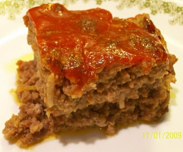 Lipton Onion Soup Souperior Meatloaf..I also like to top my meatloaf with a thin layer of Ketchup before baking..YUM