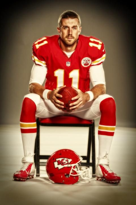 Alex Smith of KC Chiefs...I wish he was still with the 49'ers though!!