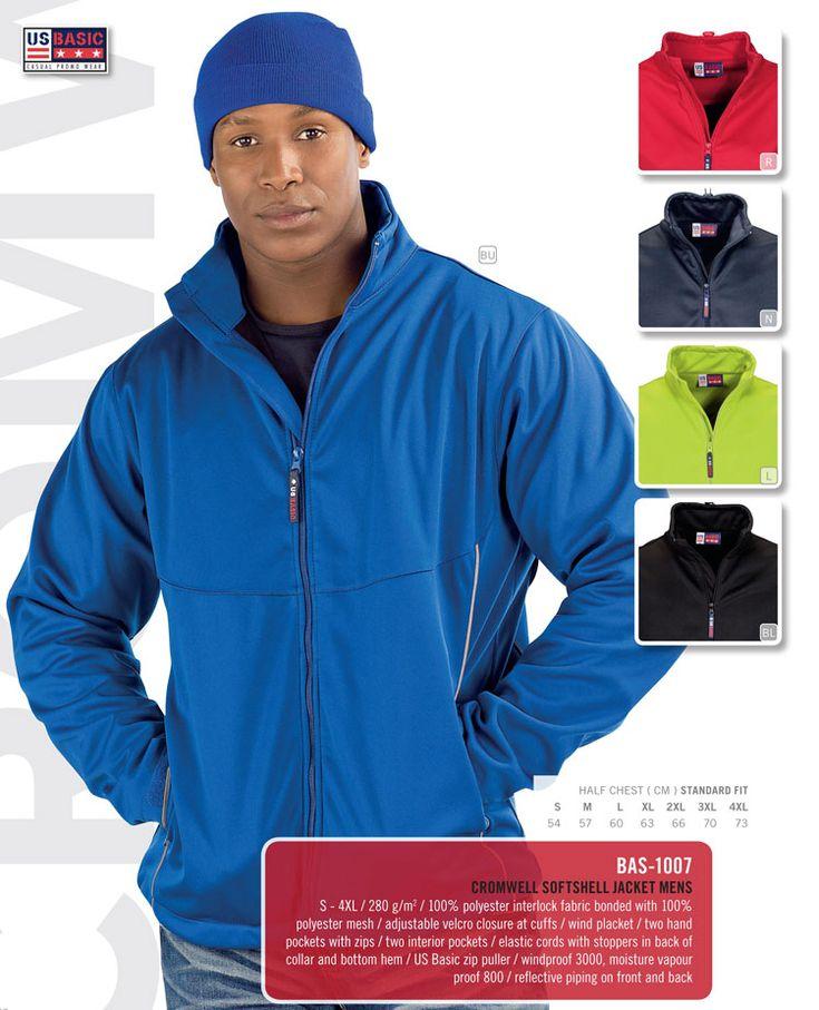 US Basic Softshell Jacket.#jacket #softshell