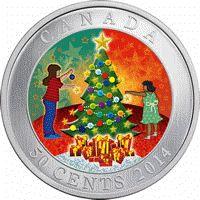 2014 Lenticular Christmas Tree Commemorative Half Dollar