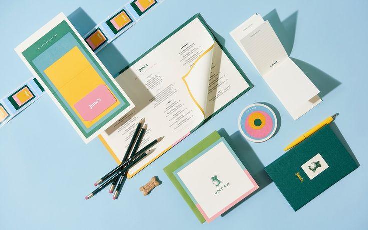June's All Day Branding by Föda Design Studio @FODA_Studio http://mindsparklemag.com/design/junes-day-branding/