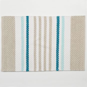 Best Nautical Bathroom Decor Images On Pinterest Nautical - Blue and green bath rug for bathroom decorating ideas