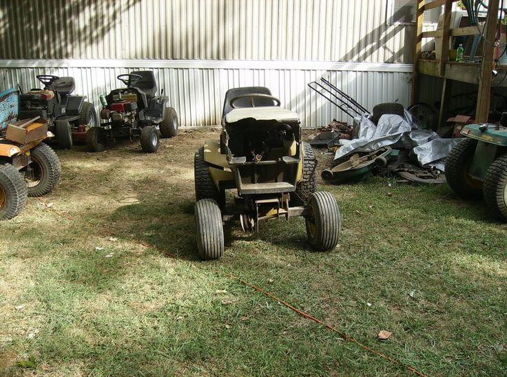 Old Sears Garden Tractors Parts : Best images about antique tractors mowers on