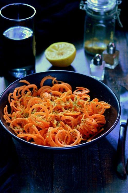 Pisztáciás sárgarépasaláta recept